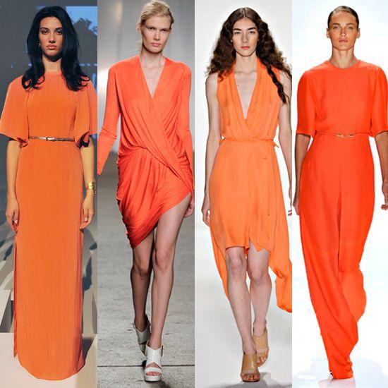 tangerine for spring! so pretty