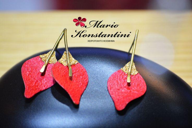 #σκουλαρίκια #κοσμήματα #κόκκινο #jewelry