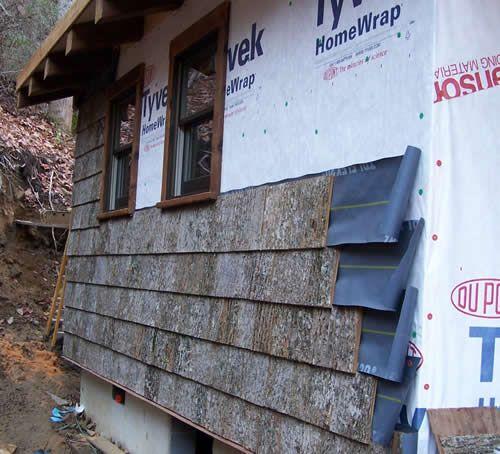 Poplar Bark Siding Installation Parton Bark Siding