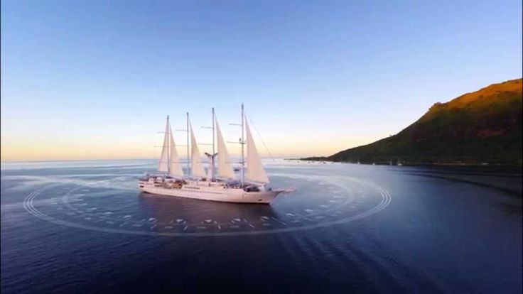 """World's Best Small Ship Cruise Line. Windstar Cruises are """"like being on your own yacht"""". Want to experience yacht life?  Contact www.speciallydesignedtravel.com"""