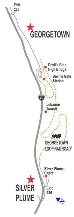 Loop Railroad map