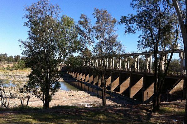 Jack Taylor Weir, Balonne River, St George QLD