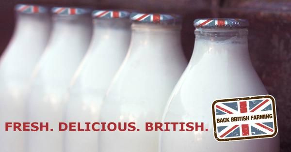 We're still getting our milk delivered in glass bottles. Love it.