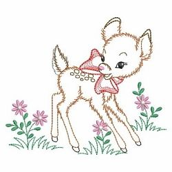 Vintage Baby Animals 3, 2 - 3 Sizes!   Borders   Machine Embroidery Designs   SWAKembroidery.com