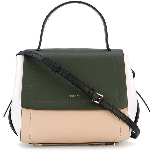 DKNY foldover tote (€415) ❤ liked on Polyvore featuring bags, handbags and tote bags