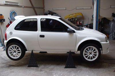 Kits de fibra Opel Corsa B Maxi
