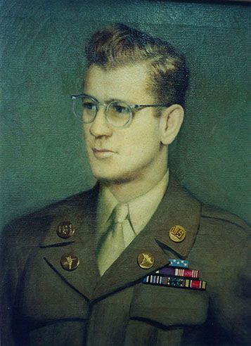 Valor awards for PFC Frederick C. Murphy (1918-1945) US Army. Medal of Honor (posthumously) for conspicuous gallantry and intrepidity in action above and beyond the call of duty....in a dawn attack 18 March 1945, against the Siegfried Line at Saarlautern, Germany. ...Private First Class Murphy saved many of his fellow soldiers at the cost of his own life. He was also awarded a Bronze Star and Purple Heart. He left behind his wife, Virginia, who would give birth to their daughter just weeks…