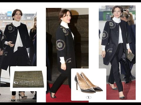 Crown Princess Mary of Denmark Looks Calm as She Attend the Opening of C...