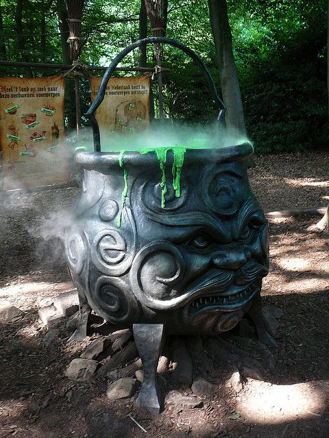 The Kettle in theme park The Efteling.