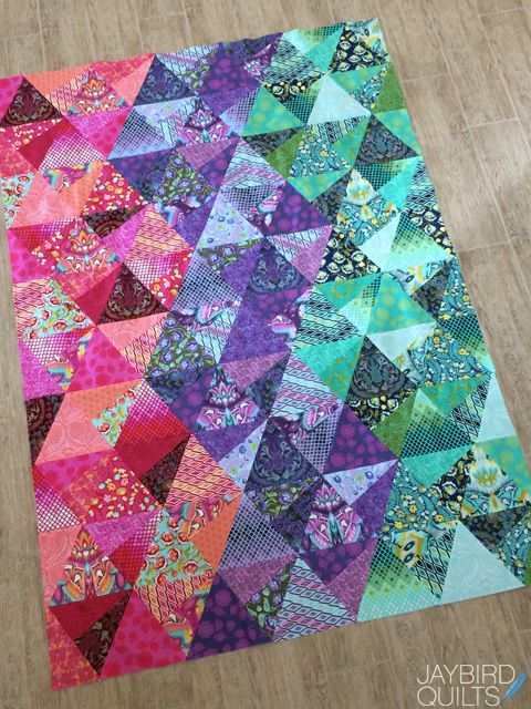 Tula Pink Eden Stereo Quilt a Fat Quarter Giveaway                                                                                                                                                     More
