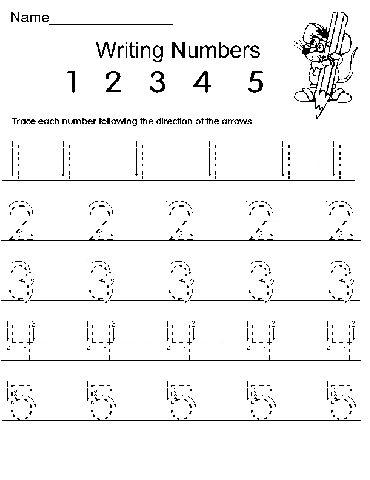 september kindergarten homework kids pinterest writing numbers kindergarten homework and math. Black Bedroom Furniture Sets. Home Design Ideas