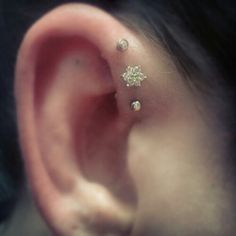 Triple foward helix