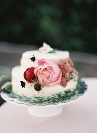 Wedding Cake Cass House Flowers By April Flowers Photo O