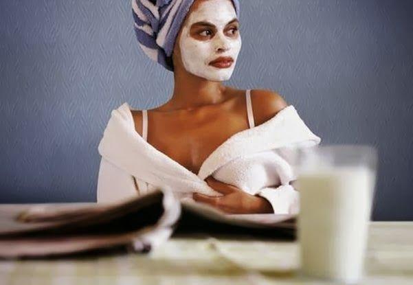 Рецепт утренней тонизирующей маски для лица! Простой и полезный.