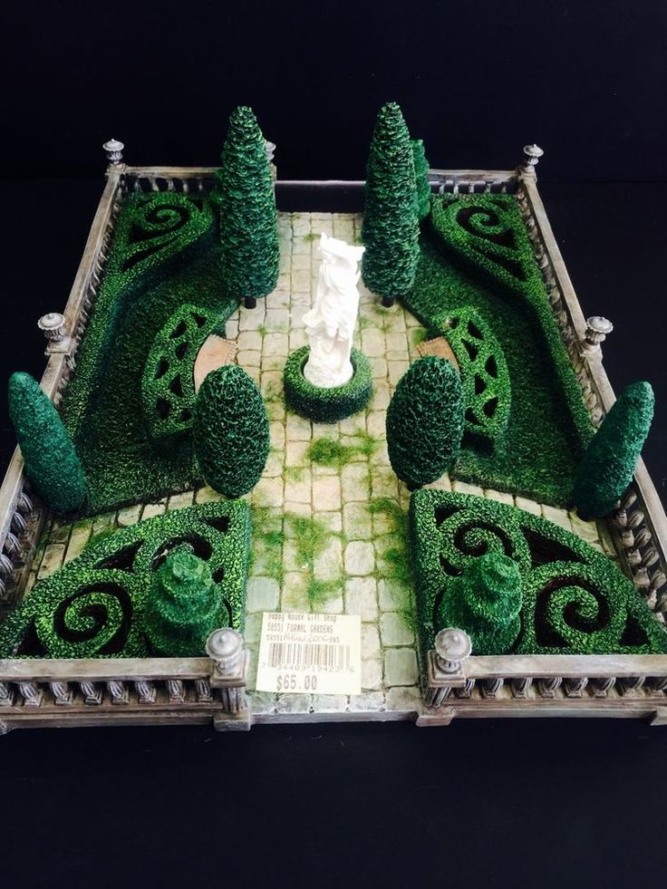Department 56 Formal Gardens No Sleeve Collections
