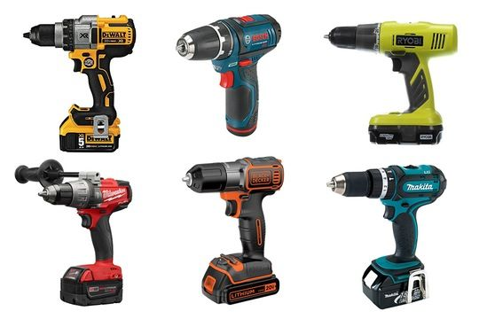 Top Ten: Best Cordless Power Drills (for Your Dad...or You!) — Annual Guide 2016