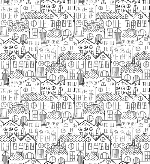 Do you like this amazing old city coloring page? Why don't you download it, print it and start coloring it?