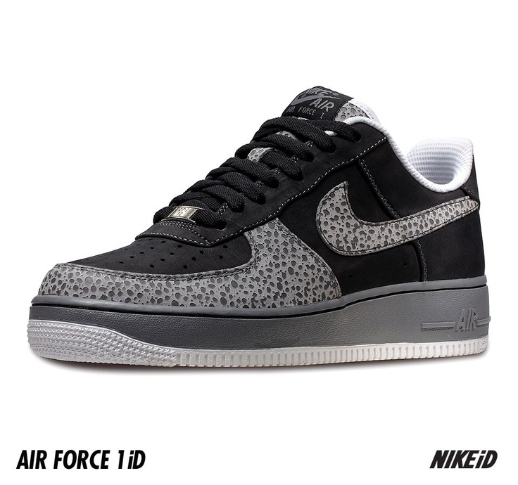 Nike Air Force 1 iD Safari Print Option Coming in April