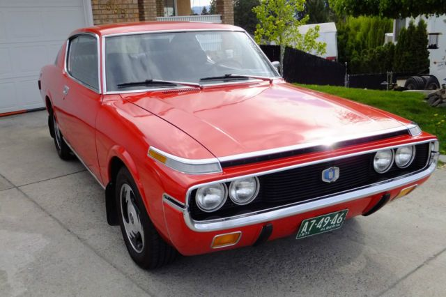 No Reserve 1971 Toyota Crown MS75 Coupe Very Rare 2.6 Deluxe project