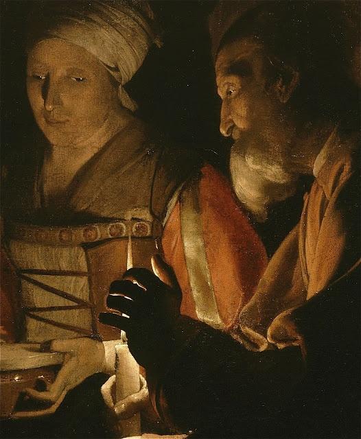 """""""The Nativity"""" by Georges de la Tour (1593-1652)"""