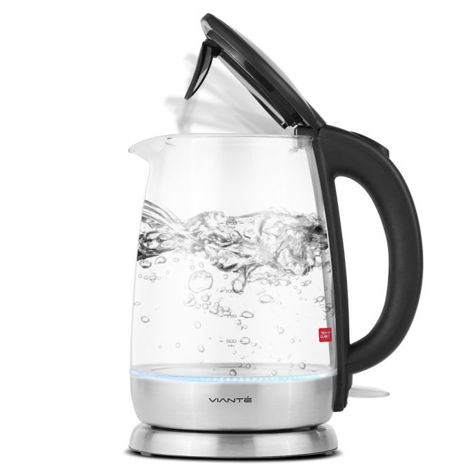 Viante 1 7 Liter Electric Glass Water Kettle Glass Water Kettle