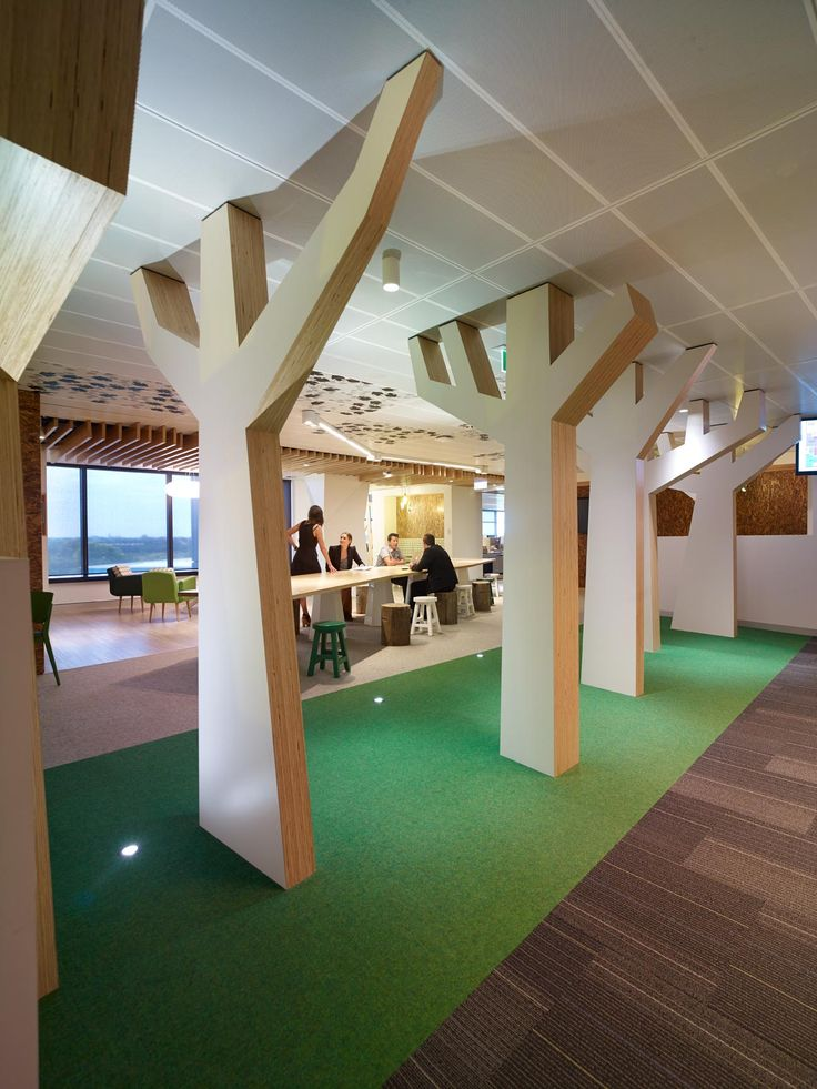 Carpet tiles can be used to enhance an office space. Whether it's an entertainment room or quiet meeting room, Interface has the perfect selection…