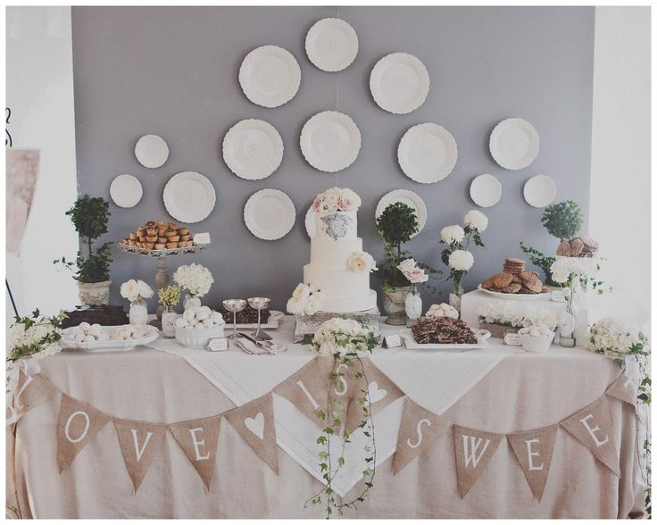 Linen, Lace, & Love: From Inspiration to Reality: Dessert Table