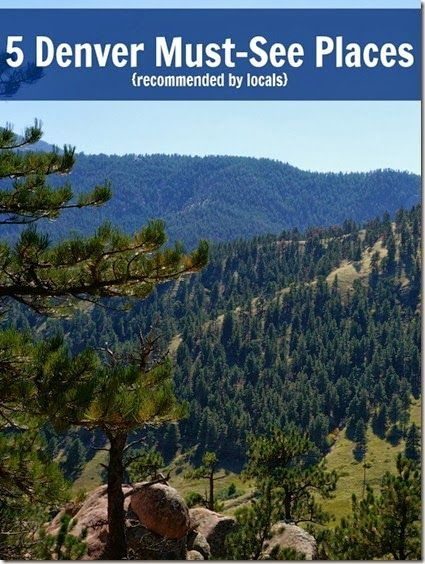 Colorado Lovin: A Vacation Every Weekend - recommendations for what to see and do while in Denver