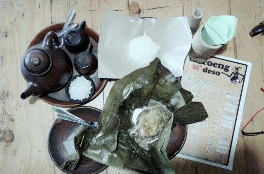Waroeng N'deso #kuliner #tradisonal #garangasem #tehpoci