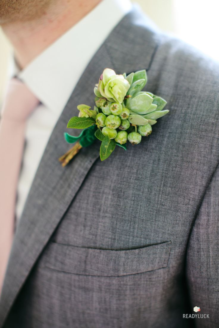 Unique Fl Free Boutonnieres Your Groom Will Love
