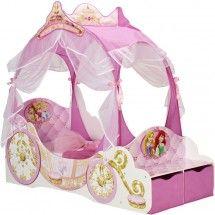 Lit carrosse Princesse Disney