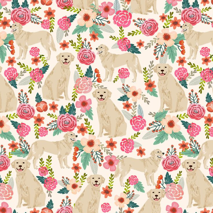 1 yard (or 1 fat quarter) of Golden Retriever, dog dogs, florals, flowers, cute nursery baby girls pastel mint all over dog print by designer petfriendly. Printed on Organic Cotton Knit, Linen Cotton Canvas, Organic Cotton Sateen, Kona Cotton, Basic Cotton Ultra, Cotton Poplin, Minky, Fleece, or Satin fabric. Available in yards and quarter yards (fat quarter). This fabric is digitally printed on demand as orders are placed. Unlike conventional textile manufacturing, very little waste of…
