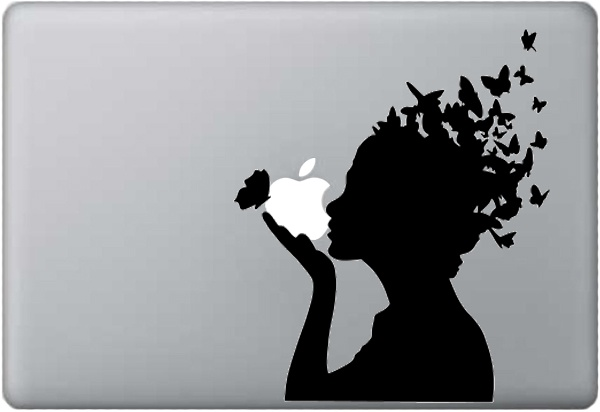 Butterfly ~ Macbook Decal by KATZEdecal