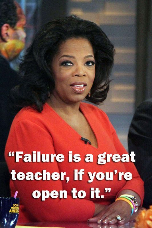 Oprah Winfrey quotes    This lady is always full of wise words!
