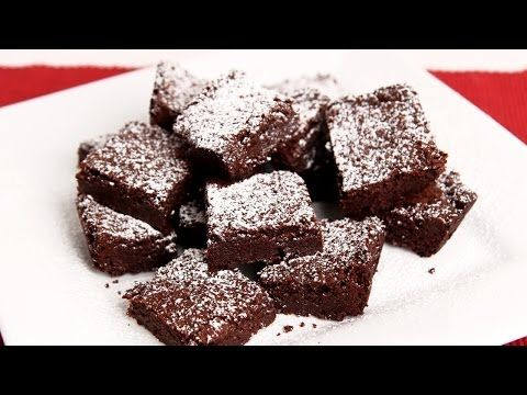 Chewy Brownies Recipe - Laura in the Kitchen - Internet Cooking Show Starring Laura Vitale