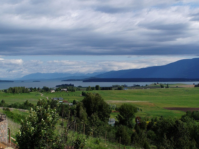 Flathead Lake, one of our favorite places