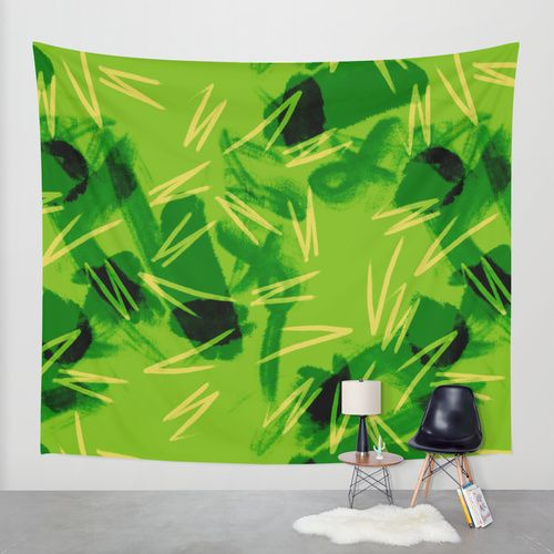 Jungle Wall Tapestry by Raluca Ag | Society6