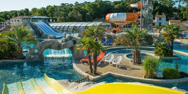 Camping Les Brunelles En Vendee Parc Aquatique Vacances Vendee