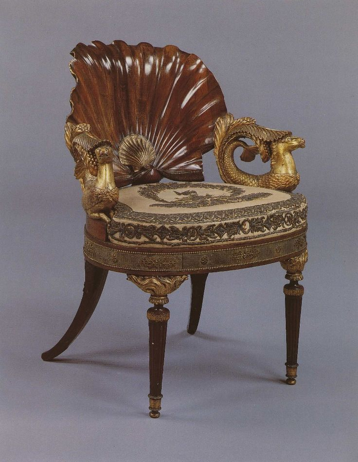 Venus Chair, probably German, circa 1800. Formerly in the collection of Carlton Hobbs LLC.