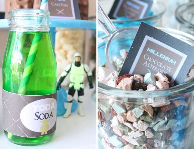 Star Wars Guest Dessert Feature   Themed parties, Sodas and Parties