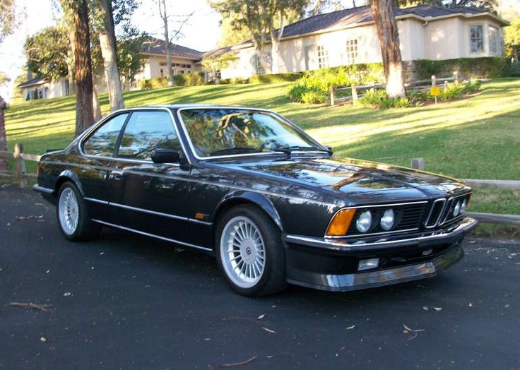 BMW M6 from the 80's.  One of the best cars BMW have ever made. Had a chance to buy a mint low mileage one off a friend in California once. Should've done it...    Other than the 7 Series from the late 90's its all been downhill on the design front from the boys in Bavaria since.