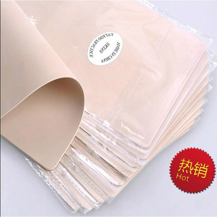5pcs Permanent makeup practice skin Silicone material  blank tattoo practice fake skin training traditional tattoo supplies #Affiliate