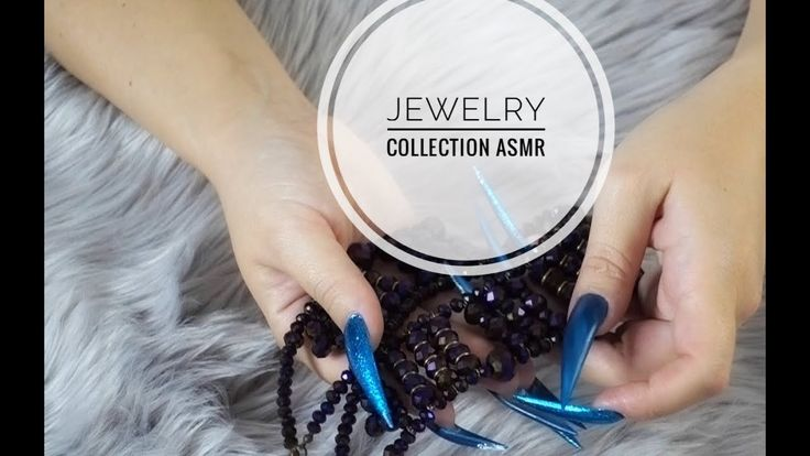 MY JEWELRY COLLECTION STILETTO NAILS CHALLENGE ASMR