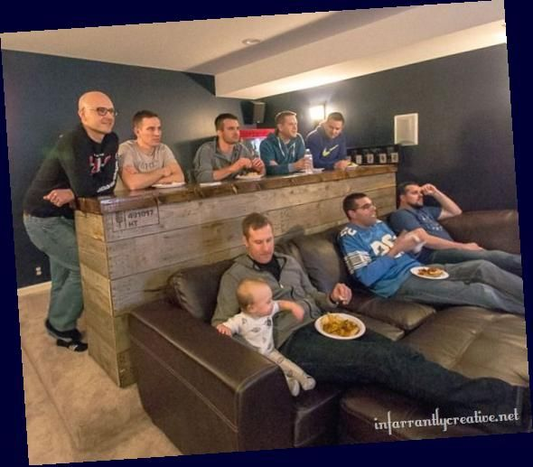 42 Amazing Man Cave Ideas That Will Inspire You To Create Your Own 42 Amazing Man Cave Ideas That Will Insp In 2020 Man Cave Home Bar Finishing Basement Diy Basement