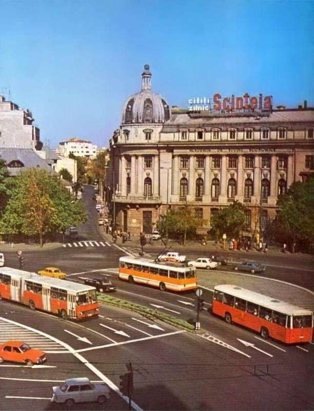 Piața Romană, 1980
