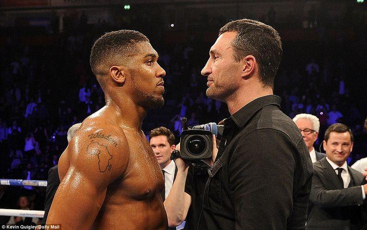 IBF heavyweight champion Anthony Joshua will fight Wladimir Klitschko at Wembley Stadium on April 29