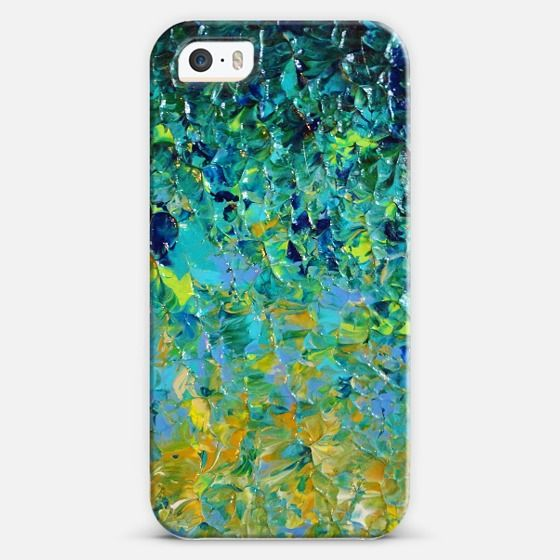 """""""Beauty Beneath the Surface"""" by Julia Di Sano, Ebi Emporium on Casetify #EbiEmporium #colorful #fineart #iPhone #cellphone #case #cover #techie #device #painting #whimsical #art #giftforher #boldcolors #underwater #ocean #waves #water #beach #ombre #splash #green #emerald #jade #lime #teal #blue #turquoise #ochre #yellow #nature #summer #vibrant Get $10 off using code: 5K7VFT"""