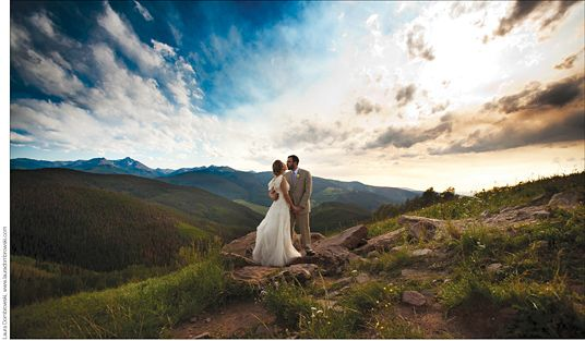 So... pretty good photo op right there...  I love cloud pics :-)  Vail, Co.