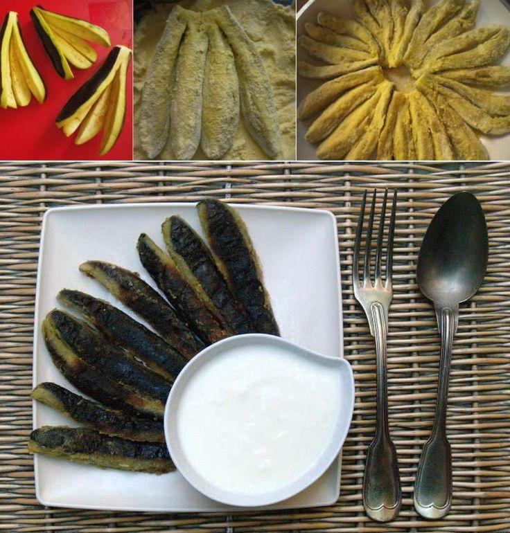 Mısır Unlu Patlıcan Kızartması                        -  Fügen Büke #yemekmutfak