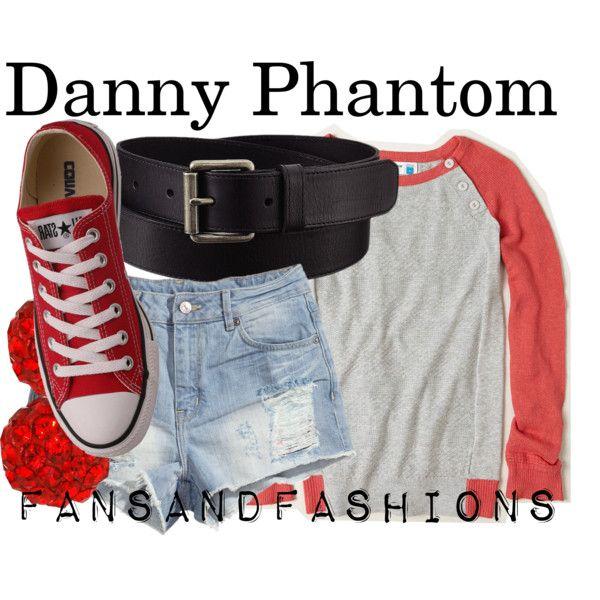 """Danny Phantom"" by sunshineowlnew on Polyvore"